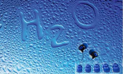 'H2O' వాటర్ ప్రూఫ్ హెడ్ఫోన్స్!!