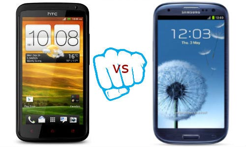 HTC One X+ vs Samsung Galaxy S3