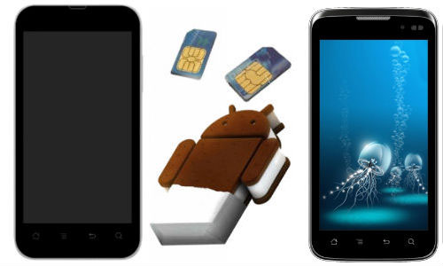 Karbonn A9+ and A21 Dual SIM Android ICS Smartphones