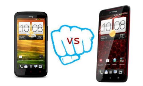 HTC One X+ vs Droid DNA