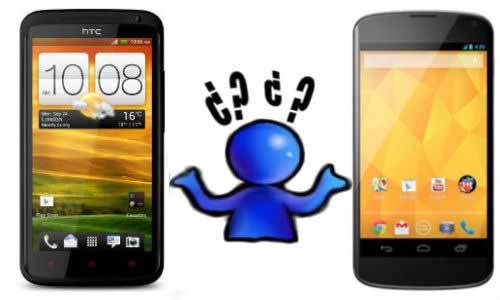 HTC One X+ vs LG Nexus 4