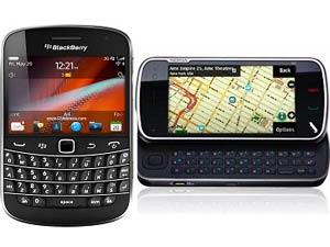 నోకియా N9 - బ్లాక్ బెర్రీ 9900 (దొందు..దొందే)..!!
