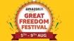 Amazon Great Freedom Festival Sale:కొత్తగా లాంచ్ అయిన స్మార్ట్ఫోన్లపై ఊహించని డిస్కౌంట్ ఆఫర్స్