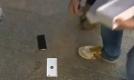 మొదటి యాపిల్ ఐఫోన్6 నేల జారింది (వీడియో)