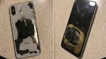 ఛార్జింగ్ పెడుతుండగా పేలిన iPhone X
