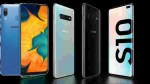 Samsung Galaxy A20s,S10 Series ఫోన్ల మీద భారీ తగ్గింపు