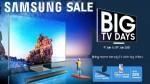 Samsung Big TV Days Sale: టీవీల కొనుగోలుపై గెలాక్సీ A51,A31 ఫోన్లను ఉచితంగా పొందే గొప్ప అవకాశం..