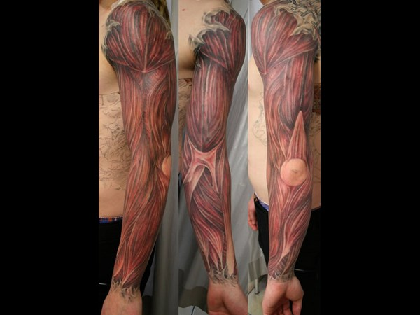 Hi-tech Aanatomical Tattoos