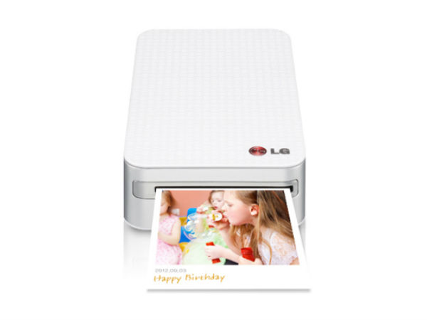 LG Launches PD233 Pocket Photo Printer in India