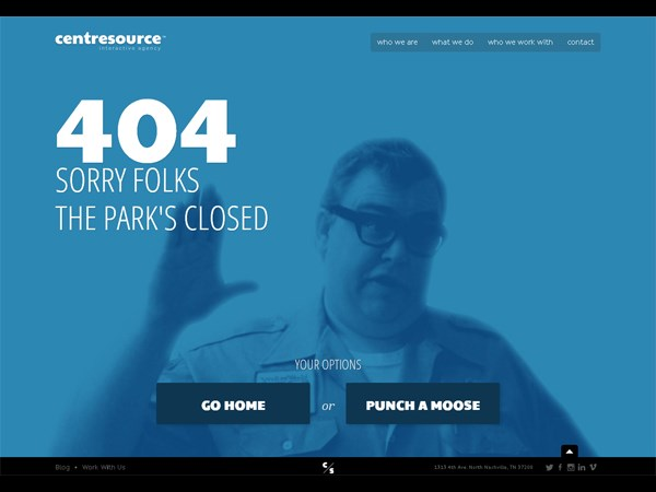 Funny & Creative Error 404 Pages