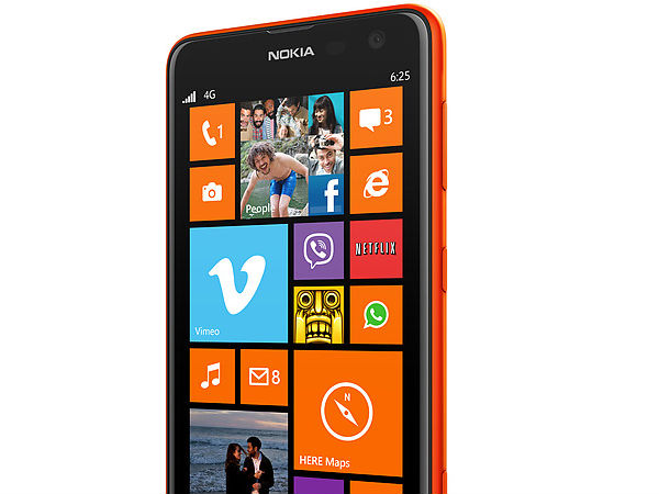 Nokia Lumia 625 launched in India for Rs. 19999