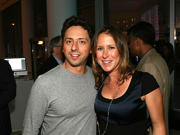 Google co-founder Sergey Brin, 40, splits from wife