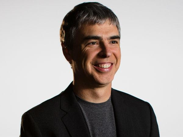 Larry Page CEO and Co-Founder