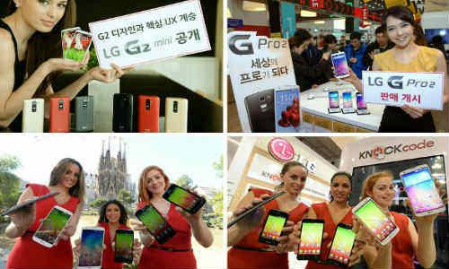 మొబైల్ వరల్డ్ కాంగ్రెస్ 2014లో ఎల్జి కొత్త ఆవిష్కరణలు