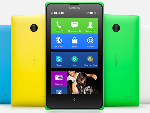 Nokia X Dual SIM White Offer