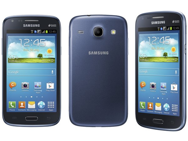 Samsung Galaxy Core I8260 (Weight: 124 grams)