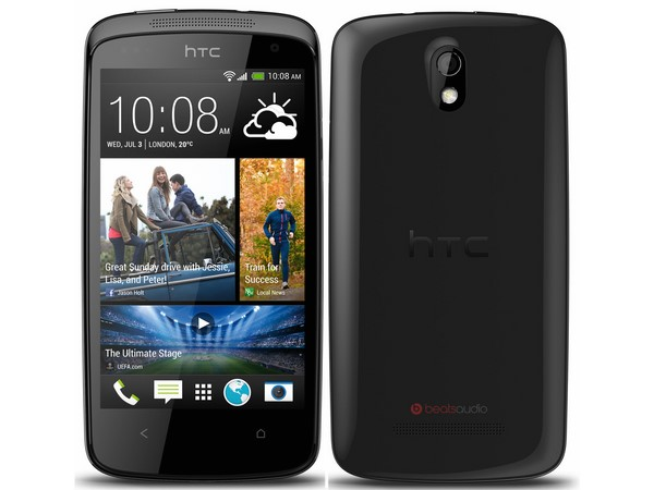 HTC Desire 500: (Weight: 123 grams)