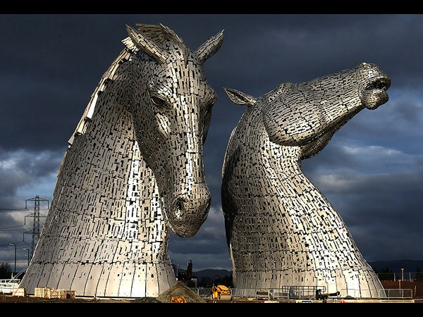 Kelpies (Grangemouth, UK)