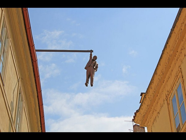 Man Hanging Out (Prague, Czech Republic)