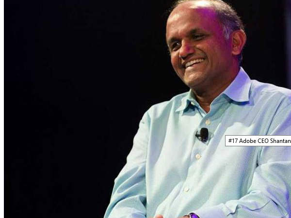 Shantanu Narayen (CEO of Adobe)