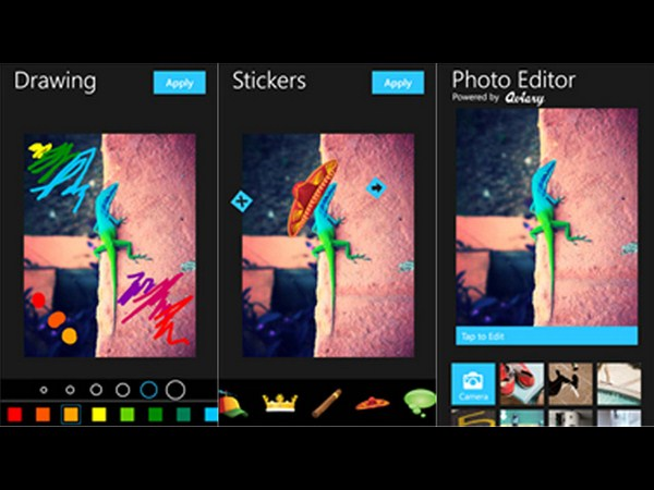 Photo Editor by Aviary (Android, iOS, Windows Phone)