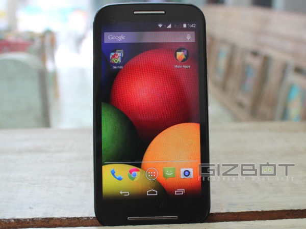 Motorola Moto E: Diwali Offers Price Cut