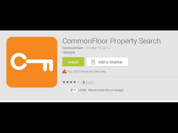CommonFloor Property Search