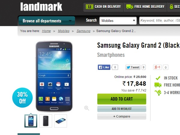 Landmarkonthenet : ( Samsung Galaxy Grand 2)