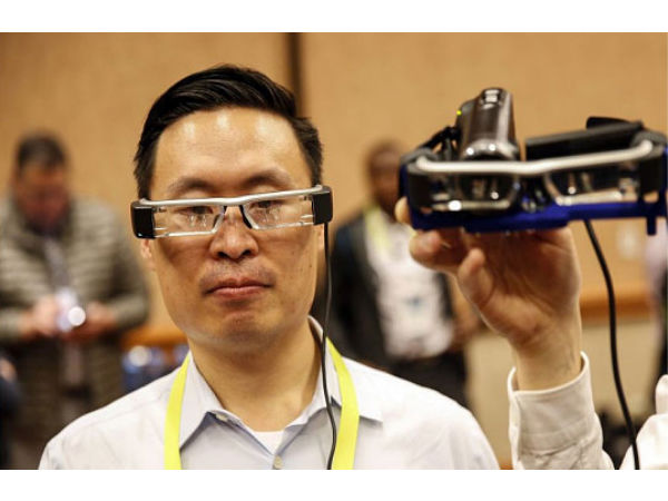 Epson BT-200 augmented reality headset