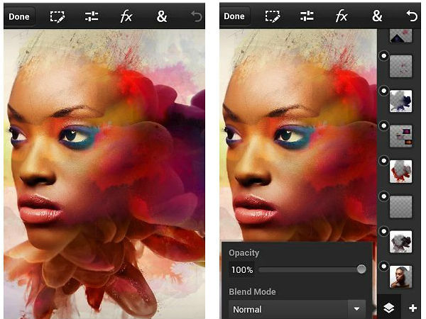 Photoshop Touch for phone - The classic