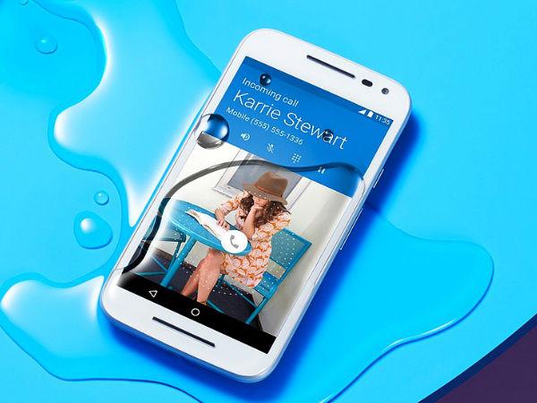 మోటో జీ ఫోన్లకు Android 6.0 అప్డేట్