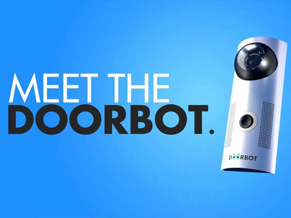 DoorBot wireless doorbell