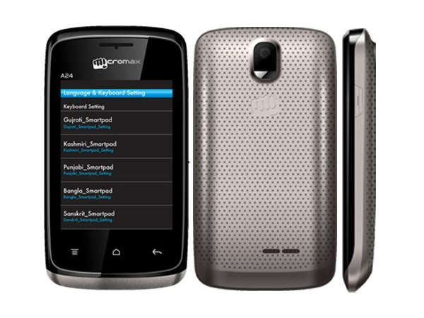 Micromax Bolt A24 (Black)