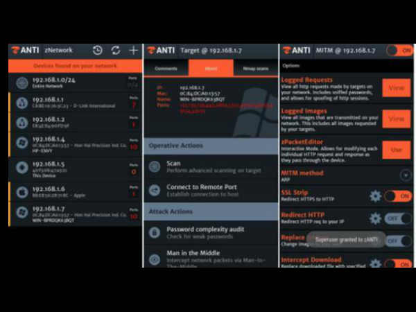Anti Penetration Testing Android Hacking Toolkit