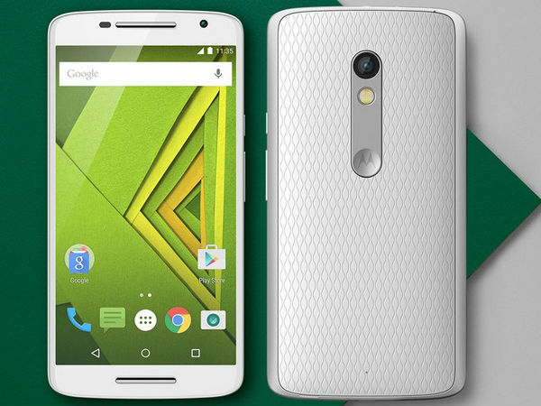 Motorola Moto X Play (With Turbo Charger)