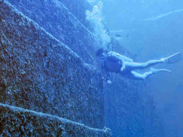 The underwater city of Yonaguni – Japan