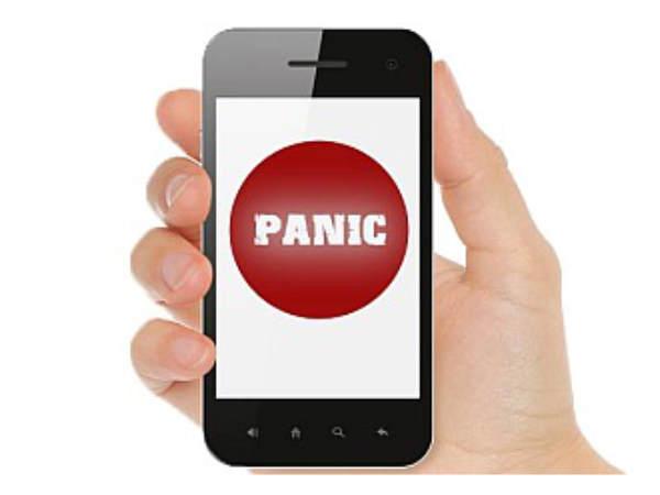 ఫోన్లలో panic button తప్పనిసరి