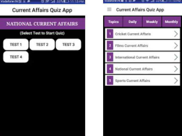 GK Current Affairs Quiz.