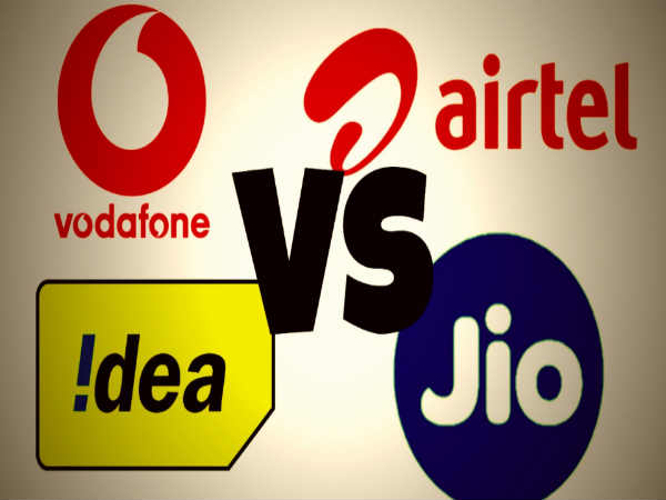 Jio Rs. 349 plan vs Airtel Rs. 349 plan vs Vodafone Rs. 349 plan