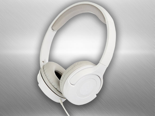 Amazon Basics White On-Ear Headphone (White)