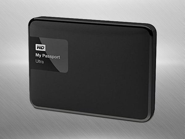 WD My Passport Ultra 2TB Portable External Hard drive (Black)
