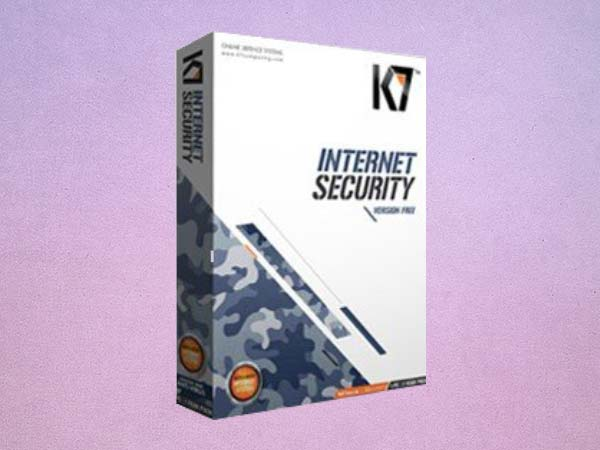 K7 Internet Security Version Free - 1 PC, 1 Year