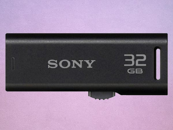 Sony Microvault 32GB Pen Drive (Black)