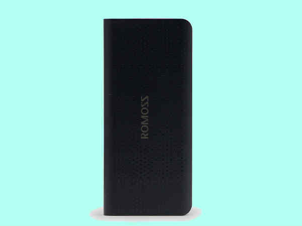 Romoss new solo 5 10000mah Power Bank (PH50-491-01) Black