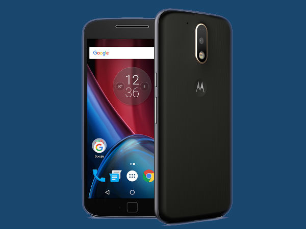 Moto G Plus, 4th Gen (Black, 32 GB)