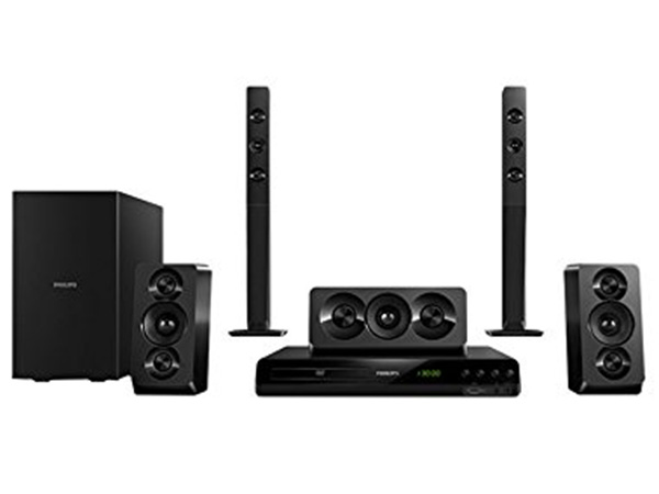 Philips HTD5550/94 Home theatre (Black)