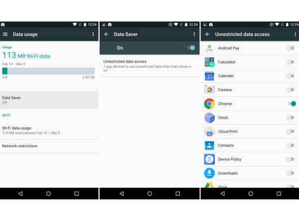 Android N Data Saver