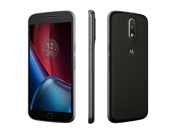 Motorola Moto G, 4th Gen (Black, 16GB)