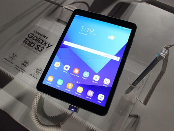 6000mAh బ్యాటరీతో సామ్సంగ్ Galaxy Tab S3