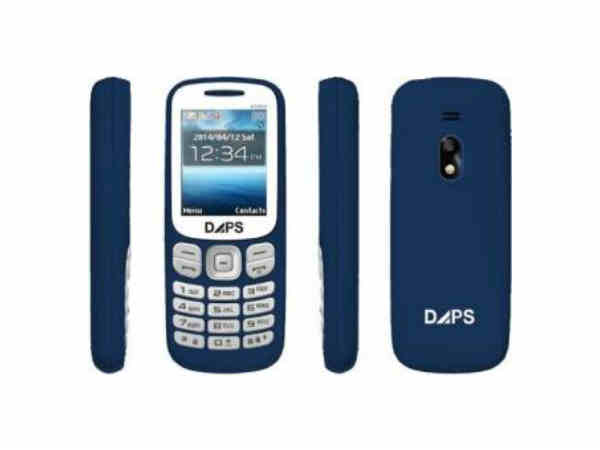 DAPS 6300S 1.8 screen ,1000 mAh Battery, Bluetooth, WAP, FM Radio